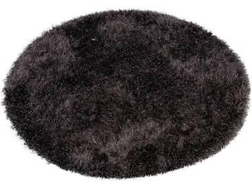 Hochflor-Teppich Glossy 411 merinos rund Höhe 70 mm maschinell...