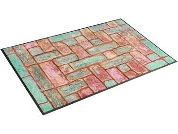 Teppich, »Pretty Bricks«, wash+dry by Kleen-Tex, rechteckig,...