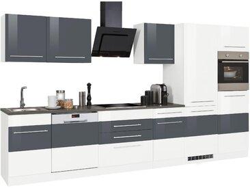 HELD MÖBEL Küchenzeile Trient mit E-Geräten Breite 360 cm