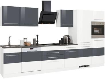 HELD MÖBEL Küchenzeile Trient Mit E Geräten Breite 360 Cm