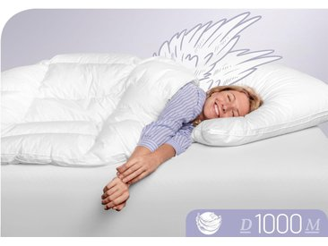 Daunenbettdecke D1000 Schlafstil leicht Füllung: 100% Eiderdaunen