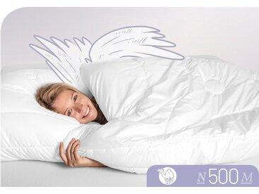 Naturhaarbettdecke N500 Schlafstil leicht
