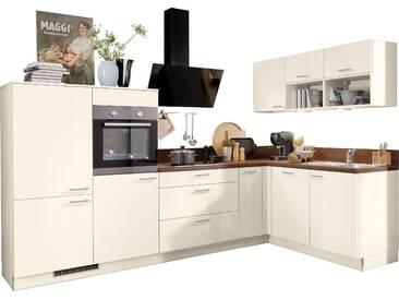 Express Küchen Winkelküche Scafa mit E-Geräten Stellbreite 305...