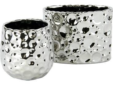 Home Affaire Keramik-Töpfe in gehämmerter und glänzender Optik...