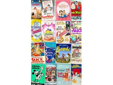 Komar Fototapete Disney Movie Posters Retro Girls 120/200 cm