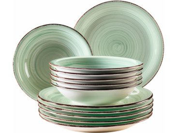 "TOPSELLER: Home affaire Tafelservice ""Bel Tempo"" (12-tlg) Keramik"