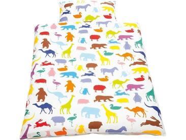 Babybettwäsche »Happy Zoo«, Pinolino®
