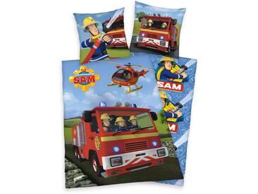 Kinderbettwäsche, Feuerwehrmann Sam, »Sam im Einsatz«, mit...