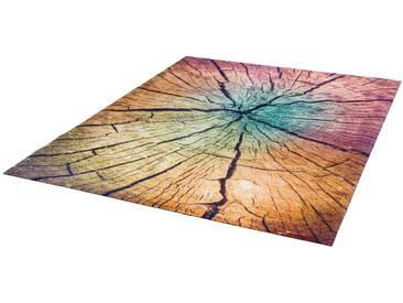 Teppich, »Wood Land«, wash+dry by Kleen-Tex, rechteckig, Höhe...