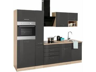 Küchenzeile Haiti ohne E-Geräte Breite 250 cm