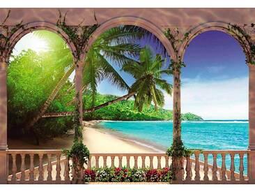 Fototapete Palmen im Paradies