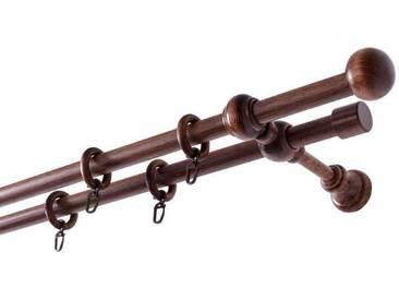 Echtholz-Gardinenstange »Barock«, nach Maß