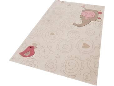 Kinderteppich, »Happy Zoo Elephant«, Sigikid, rechteckig, Höhe...