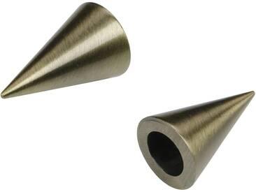 Endstück, Liedeco, »Cone«, für Gardinenstangen Ø 16 mm (2 Stück)