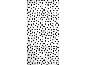 Handtuch »Dots Black And White«, Juniqe