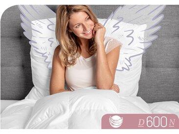 Gänsedaunenbettdecke D600 Schlafstil normal Füllung: 100%...