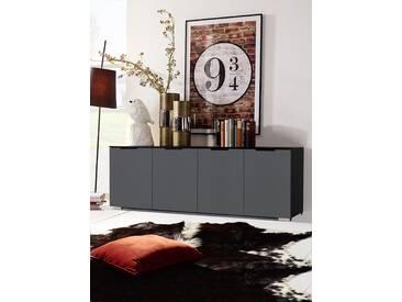 INOSIGN Sideboard, Breite 160 cm, bodennah mit Gleitern