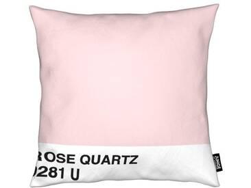 Dekokissen, »Rose Quartz«, Juniqe