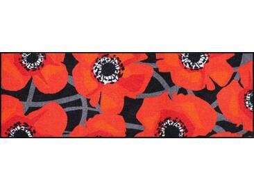Läufer, »Bloom Poppy Black«, Salonloewe, rechteckig, Höhe 7...