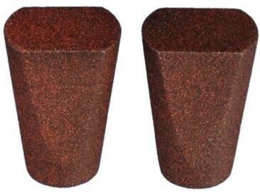 Endstück, Liedeco, »Dust«, für Gardinenstangen Ø 16 mm (2 Stück)