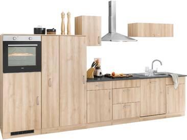 WIHO Küchen Küchenzeile Brilon ohne E-Geräte Breite 360 cm