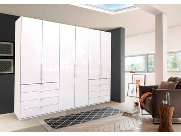 WIEMANN Panorama-Falttürenkleiderschrank Loft Glasfront