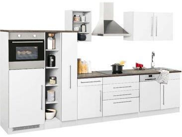 HELD MÖBEL Küchenzeile Samos ohne E-Geräte Breite 350 cm