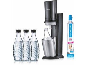 "TOPSELLER: SodaStream Wassersprudler ""CRYSTAL 20 titan"" (5-tlg..."