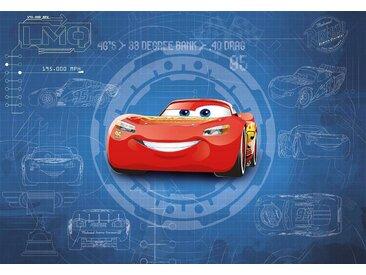 Komar Fototapete Disney Cars3 Blueprint 368/254 cm
