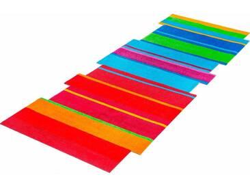 Teppich, »Dancing Steps«, wash+dry by Kleen-Tex, stufenförmig,...