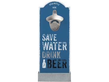 contento Wand-Flaschenöffner Save Water