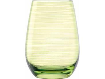 Stölzle Trinkglas, Glas, 6 Teile, »TWISTER«