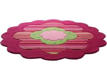 Kinderteppich, »Flower Shape«, Esprit, rund, Höhe 10 mm,...