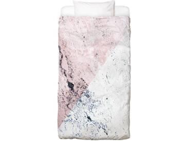 Bettwäsche »Rose Geo Marble«, Juniqe