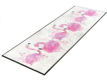 Läufer, »Flamingo«, wash+dry by Kleen-Tex, rechteckig, Höhe 7...