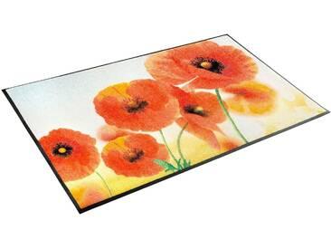 Teppich, »Sunny Poppy«, wash+dry by Kleen-Tex, rechteckig,...