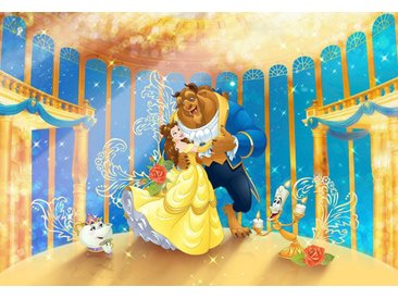 Komar Fototapete Disney Beauty and the Beast 368/254 cm