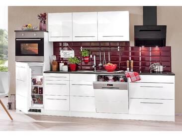 HELD MÖBEL Küchenzeile Trient mit E-Geräten Breite 300 cm mit...