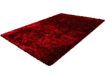 Hochflor-Teppich Twist 600 LALEE rechteckig Höhe 32 mm...