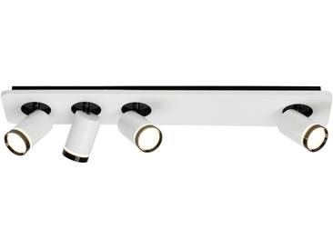 AEG Sol LED Spotbalken 4flg weiß-glänzend/schwarz