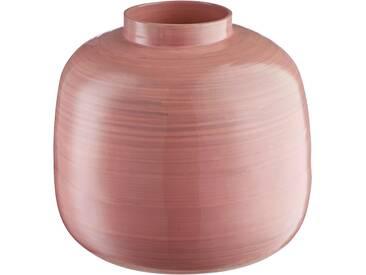 Home affaire Vase »Pinky« aus Bambus, Höhe 22 cm