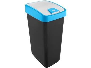 keeeper Abfallbehälter mit Flip-Deckel Fassungsvermögen 45...