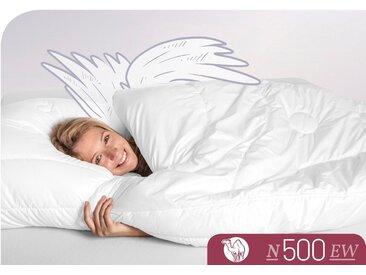 Naturhaarbettdecke N500 Schlafstil extrawarm