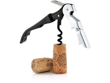Zelsius 3x Kellnermesser mit Korkenzieher und Flaschenöffner