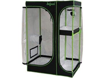 Zelsius Grow Tent 90 x 60 x 135 cm schwarz/grün Pflanzenzucht Indoor