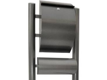 Zelsius - Moderner Standbriefkasten, Hammerschlagoptik