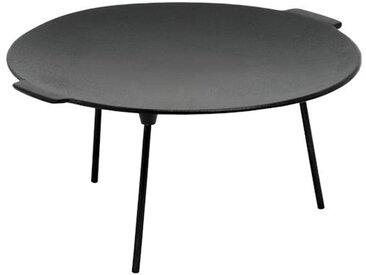 BBQ-Toro Gusseisen Grillpfanne Ø 45 cm mit 3 Beinen  rund  Dutch Oven Ständer