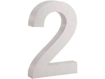 "ZELSIUS Edelstahl Hausnummer ""2"""