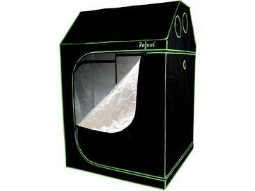 Zelsius Grow Tent 120 x 120 x 180 cm schwarz/grün Pflanzenzucht Indoor