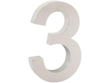 "ZELSIUS Edelstahl Hausnummer ""3"""